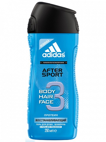 Shower Gel Male Гель для душа и шампунь 250 мл after sport